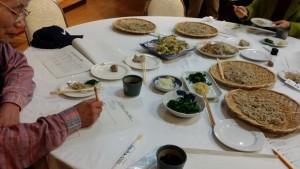 秋そば研究事業試食会の様子2
