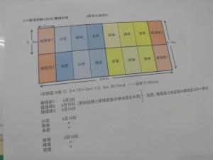 圃場設計図
